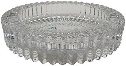 Elegant Round Glass Ashtray