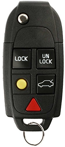 (Discount Keyless Keyless Entry Remote Uncut Car Key Fob Compatible with Volvo LQNP2T-APU)