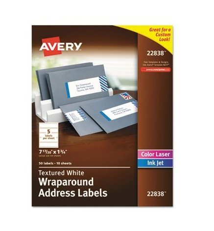 Avery Rectangle Labels White Pack