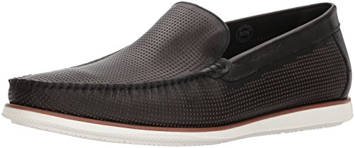 Kenneth Cole New York Men Cyrus Slip on Loafer, Medium Black