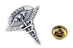 Nurse Lapel Pin RN LPN Tie Tack Brooch Collar