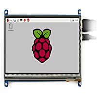 7 inch Raspberry pi touch screen 800480 7 inch Capacitive Touch Screen LCD, HDMI interface, supports various systems