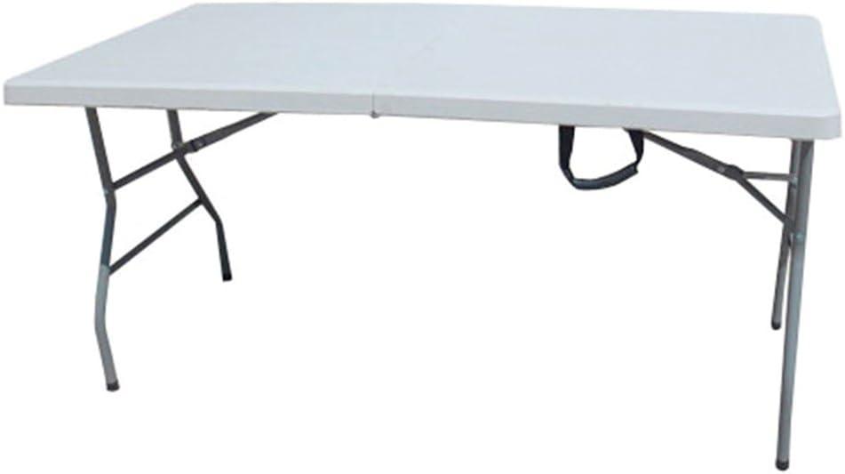 Mesa plegable plegable rectangular Maleta HDPE CM.152 x 76 x 74h ...