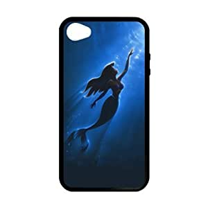 The Mermaid Custom Phone Accessories Hard Shell Case Cover for iphone 6 4.7 (Laser Technology)