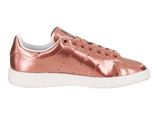 Adidas Dames Stan Smith Originelen Vrijetijdsschoen Koper Metaal / Koper Metaal-schoeisel Wit