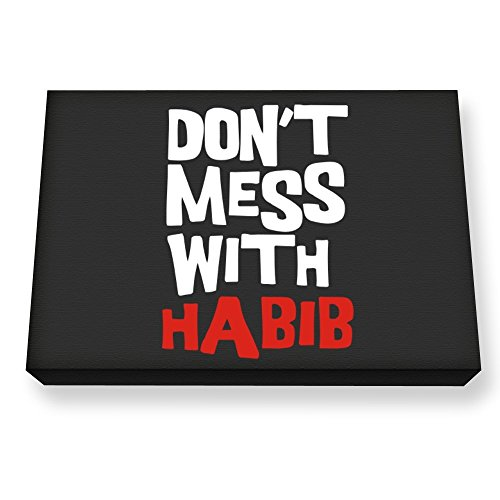 teeburon-dont-mess-with-habib-canvas-wall-art