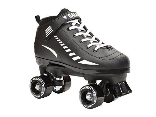 Epic Skates Galaxy Elite Kids Quad Speed Skates, Black, for sale  Delivered anywhere in USA