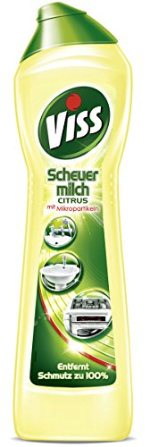 Viss Scheuermilch Citrus Reiniger, 4er-Pack (4 x 500 ml)