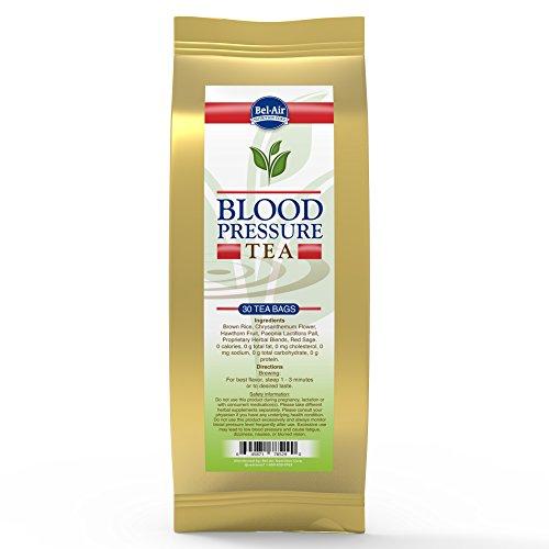 Herb Blood Pressure Tea (Longevity Blood Pressure Herbal Tea, teabags, 30 count package)