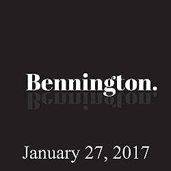 Bennington, January 27, 2017