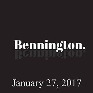 Bennington, January 27, 2017 Radio/TV Program