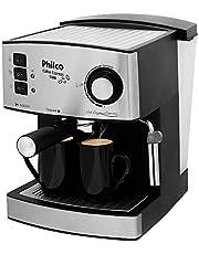 Cafeteira Coffee Express 15 Bar, 850w, 53901026 Philco Preto/ Prata
