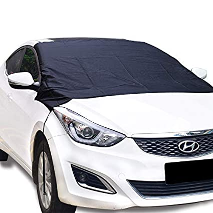 SUV Car Rear Windshield Snow Cover Magnetic with Storage Pouch-Ultra Durable Weatherproof RAINPROOF Design L Hook for Car /& SUV Sun//Snow Cover Shield Dust Protector Cover for SUV Car Truck RVS