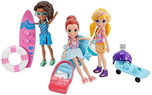 Polly Pocket - Polly Pocket! 3 Bonecas Aventura na Agua, Mattel, GFR09, Multicor