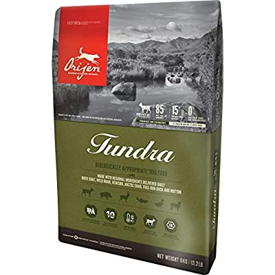 Orijen Biologically Appropriate Dog Food, Made in the USA, Tundra, 13.2 Pounds