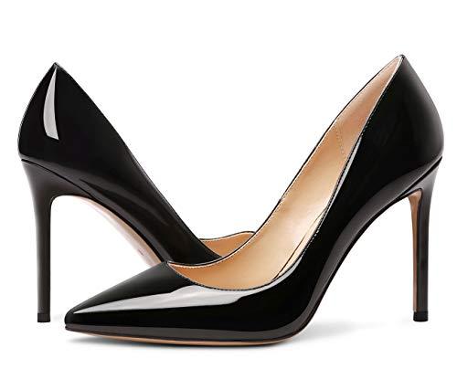 Castemere - Zapato negro de tacón