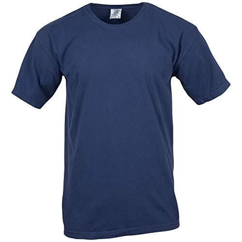 Comfort Colors Men's Adult Short Sleeve Tee, Style 1717, True Navy, ()