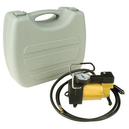 Weston Gear Portable 12-Volt Mini Air Compressor Pump, 1/4 hp Motor ()