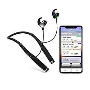VI Sense Wireless Headphones on-Demand AI Personal Trainer Human-Sounding Voice Coaches You in Realtime Using a Built-in Fitness Tracker Heart Rate Monitor