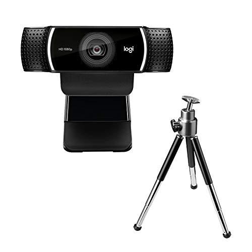 Logitech C922 Pro Stream 1920 x 1080Pixeles USB Negro - Webcam (1920 x 1080 Pixeles, 1280x720@60fps, 1920x1080@30fps, 720p,...