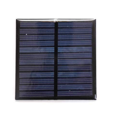 Electronicspices 6V 100mA Mini Power Solar Cells for Solar Panels DIY Projects (70 x 70 mm) – Pack of 2