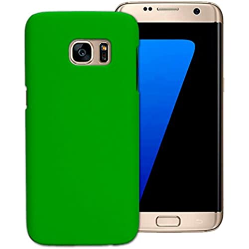 Tenworld Samsung Galaxy S7 Edge Case Cover ! ! ! Hard Back Cover Case (Green) Sales