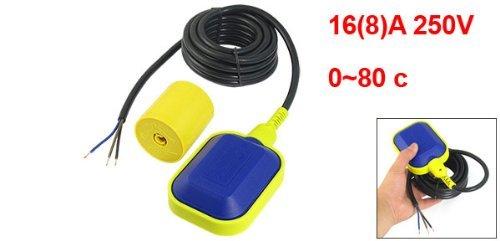 DealMux Water Pump Float Switch Fluid Level Controller, 250V, 16(8) A: Amazon.com: Industrial & Scientific