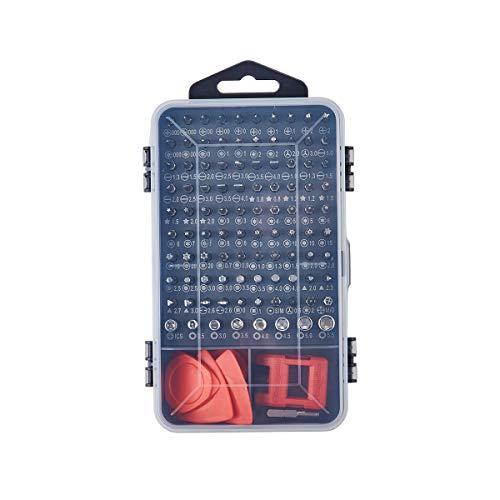 KALAIDUN Precision Screwdriver Set, 112 in 1 Screwdriver Repair Tool Kit Magnetic Driver Kit Professional Repair Tool Kit for iPhone X, 8, 7 / Cellphone/Computer/Tablet/PC/electronic etc