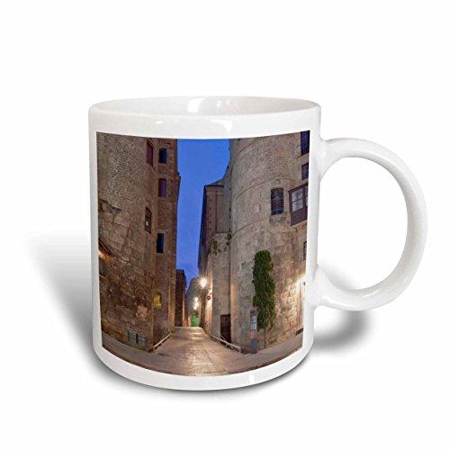 3dRose mug_139134_1 Old Roman Gate, Gothic Quarter, Barcelona, Spain Eu27 Rti0031 Rob Tilley Ceramic Mug, - Roman Gate