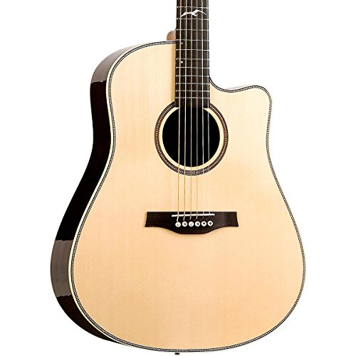 Studio Dreadnought Acoustic Guitar (Seagull Artist Studio Deluxe CW Acoustic-Electric Guitar)