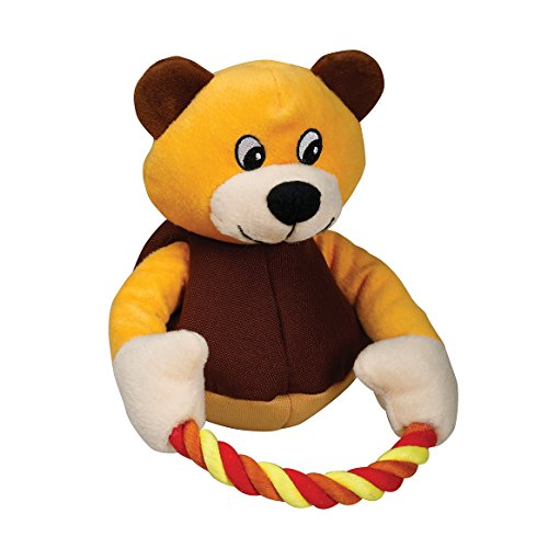 SmartPetLove Tender-Tuffs – Tug with Rope Plush Toy (Brown Bear) Review