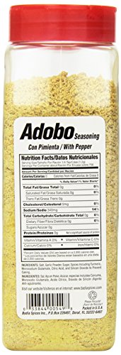 Badia Spices inc Adobo, with Pepper, 32-Ounce (Pack of 6) by Badia (Image #3)