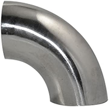 1.5 STAINLESS STEEL 316 TUBE PIPE 90 DEGREE BEND