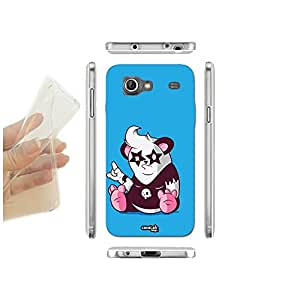 FUNDA CARCASA SLIM PANDA ROCKER ROCK PARA SAMSUNG GALAXY S ADVANCE I9070 TPU