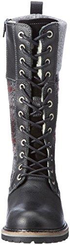 Rangers 26431 Femme Bottes Black Tamaris Comb Noir ngTzxSw7