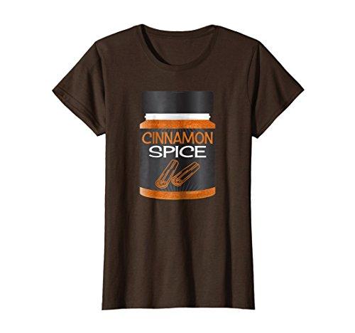 (Womens Cinnamon Spice Rack Girls Matching Halloween Costume Shirt Large)