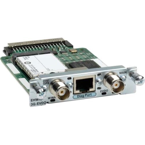 Cisco 3G Wireless Enhanced High-Speed Wan Interface Card Evdo Version - Wireless Cellular Modem - Ehwic - Cdma 2000 1X Ev-Do Rev. A - Sprint Nextel
