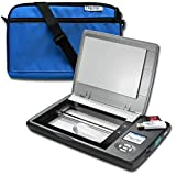 Flip-Pal Carry Case Bundle. Scanner with Deluxe Carry Case with Pocket - Blue