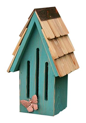 Heartwood 198D Breeze Butterfly House in Teal Finish