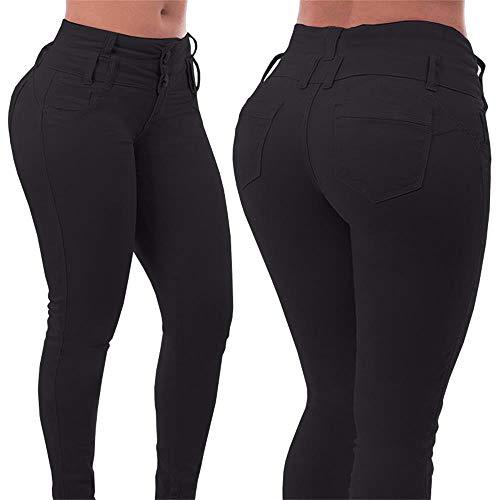 Romancan Femme Romancan Femme Noir Jeans Romancan Jeans Jeans Noir Femme wUFqY67O