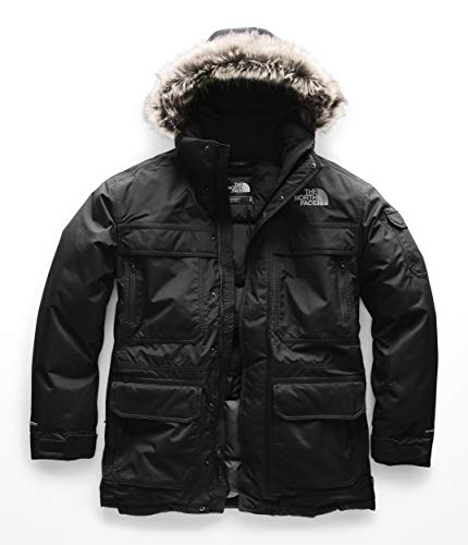 Boys Mcmurdo Down Parka - The North Face Men's McMurdo Parka III TNF Black Large