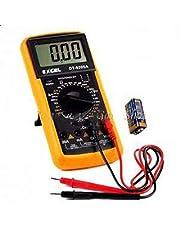 افوميتر ديجيتال جهاز ملتيميتر لفحص وقياس التيار الكهربائي مزود بشاشة رقمية