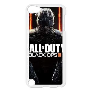 Call Of Duty Operaciones Negro Negro Operaciones Iii 102.453 iPod Touch 5 Case funda blanca del teléfono celular Funda Cubierta EEECBCAAH78943