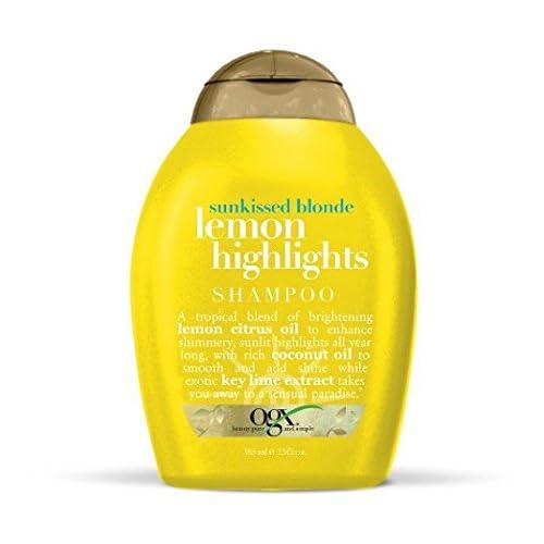 (OGX) Organix Shampoo Sunkissed Blonde Lemon Highlights 13oz (2 Pack)