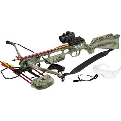 Jaguar MC-CR013A2  Crossbow Kit, 175-Pound, Camo