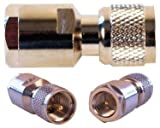 Wilson FME-Male / Mini-UHF-Male Connector, 971105 by Wilson Electronics