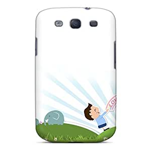 New Love You Mum Mothers Day Tpu Skin Case Compatible With Galaxy S3