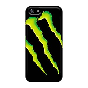 SherriFakhry Iphone 5/5s Shock Absorbent Hard Phone Cover Customized High Resolution Monster Pattern [dWa7110Rkkr]