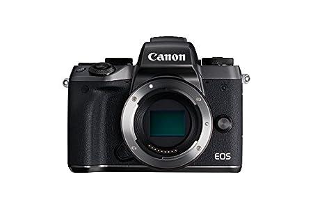 Canon EOS M5 Fotocamera 24.3 MP, attacco obiettivo EF-M, Nero