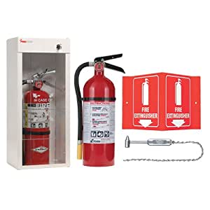 Kidde Fire Extinguisher With Cabinet Hammer And Fire Sign Fire Extinguisher Cabinet With